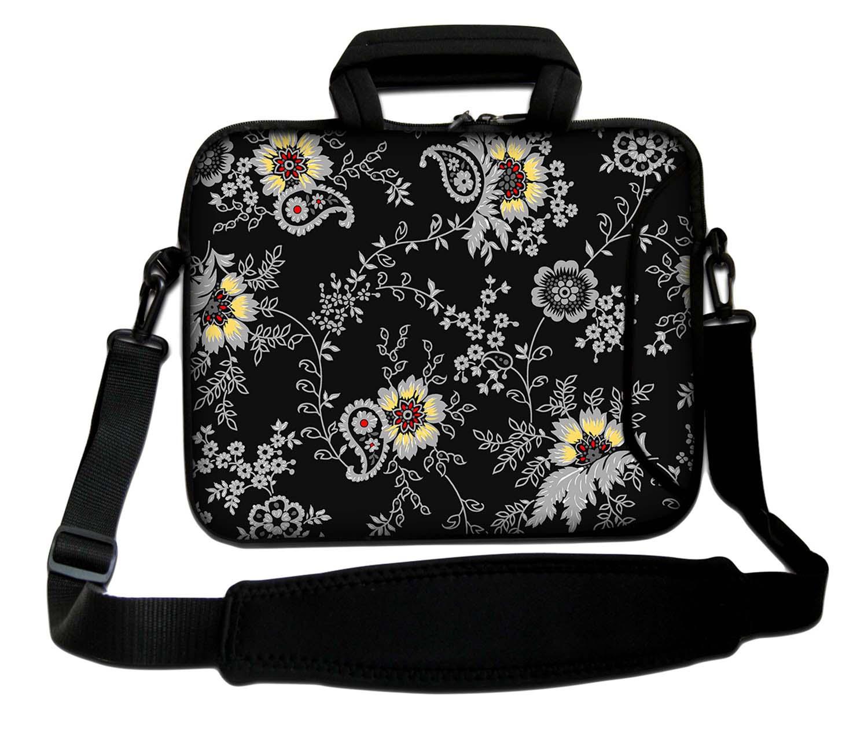 10 - 17,3 Zoll LUXBURG® Schultertasche Notebooktasche Tragegurt aus Neopren