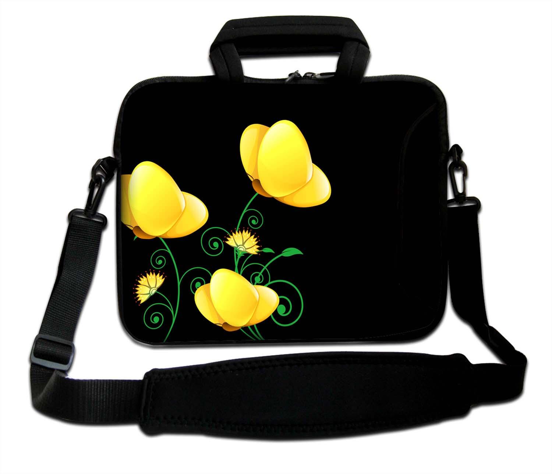 Luxburg 17 pouces sac bandouli re sacoche housse pour for Housse 17 pouces