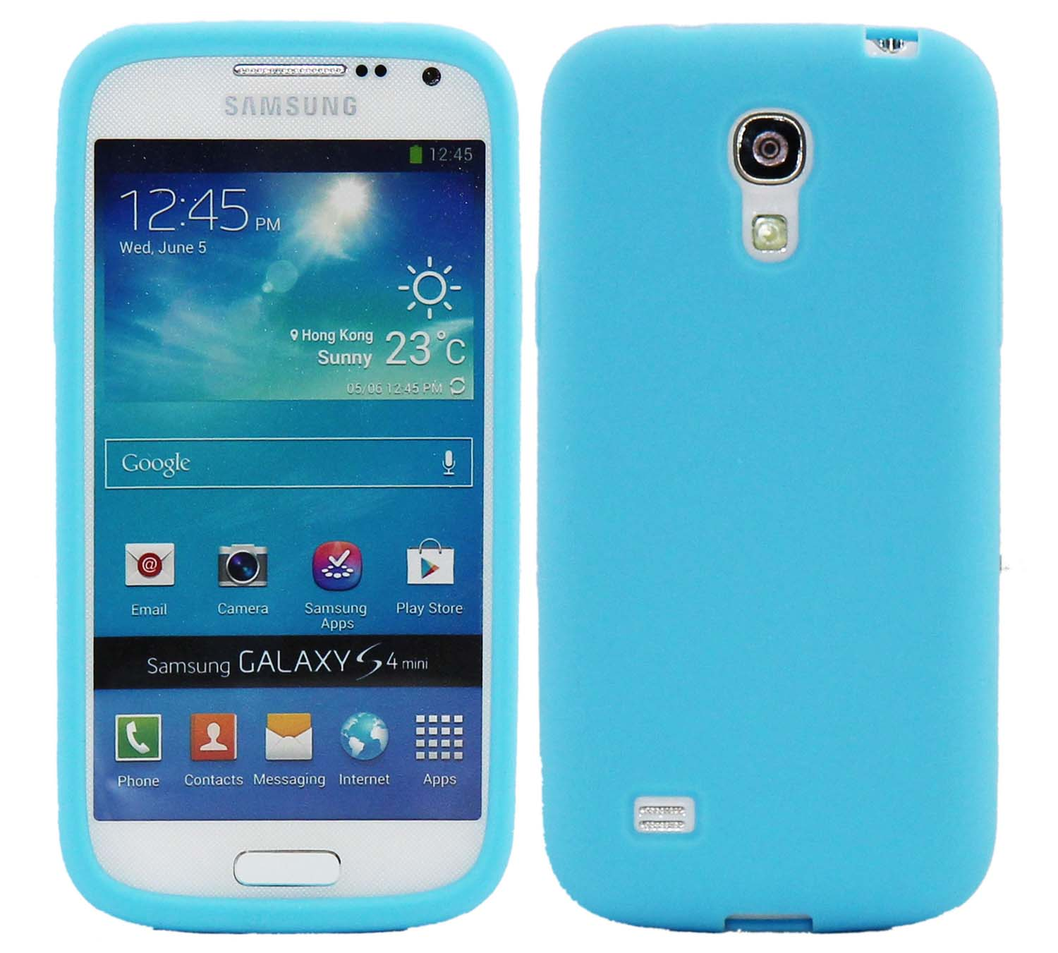 Coque housse tui en silicone tpu polycarbonate pour for Housse samsung galaxy s4 mini